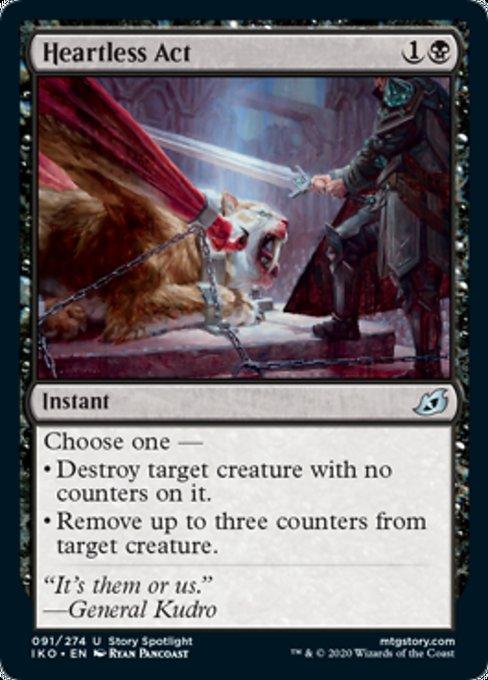 Heartless Act Magic Ikoria Lair of Behemoths