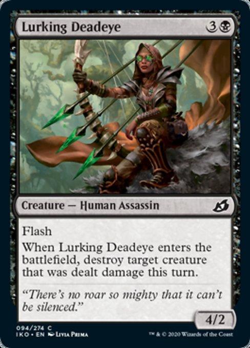 Lurking Deadeye Magic Ikoria Lair of Behemoths
