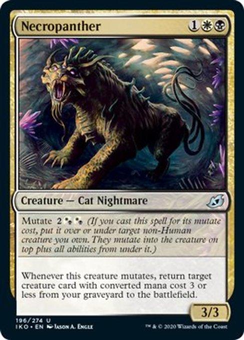 Necropanther Magic Ikoria Lair of Behemoths