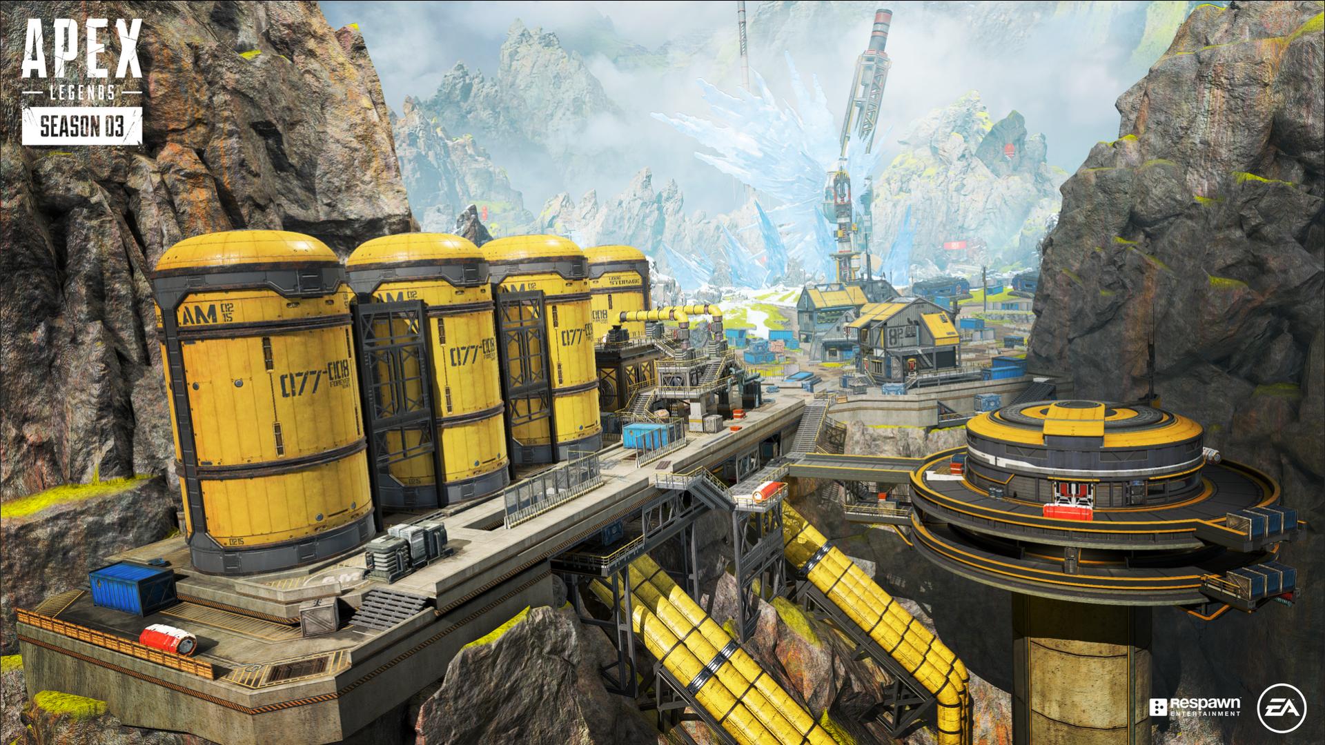Full Apex Legends map breakdown: World's Edge