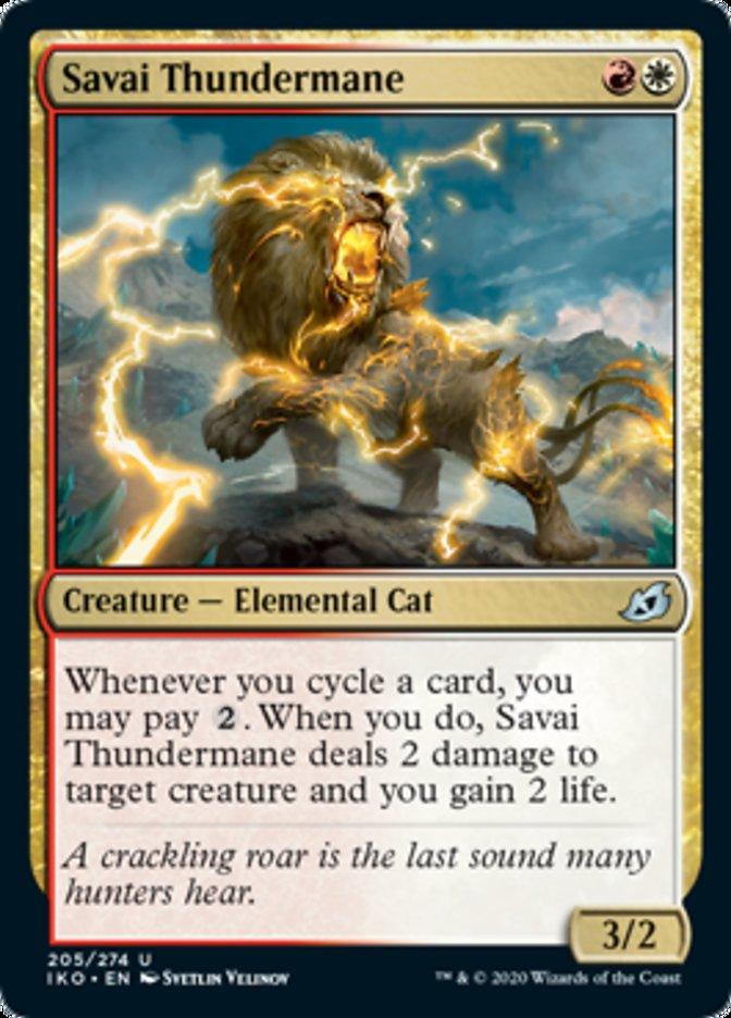 Savai Thundermane Magic Ikoria Lair of Behemoths