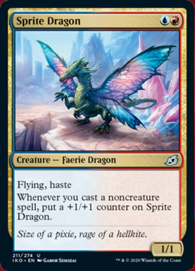 Sprite Dragon Magic Ikoria Lair of Behemoths