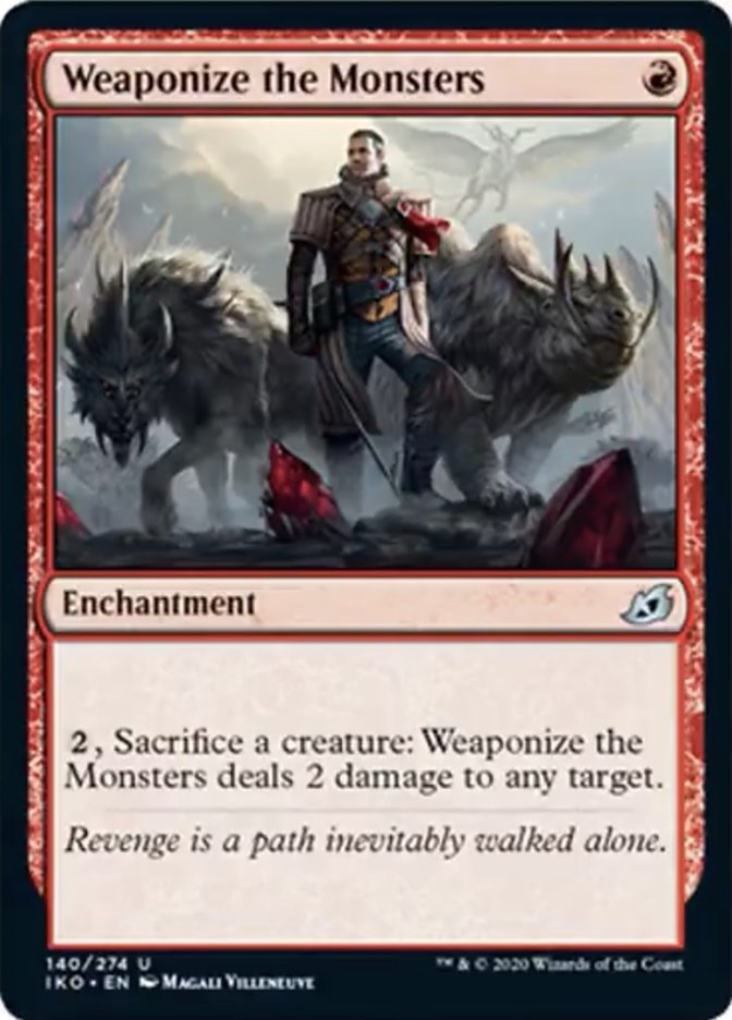 Weaponize the Monsters Magic Ikoria Lair of Behemoths