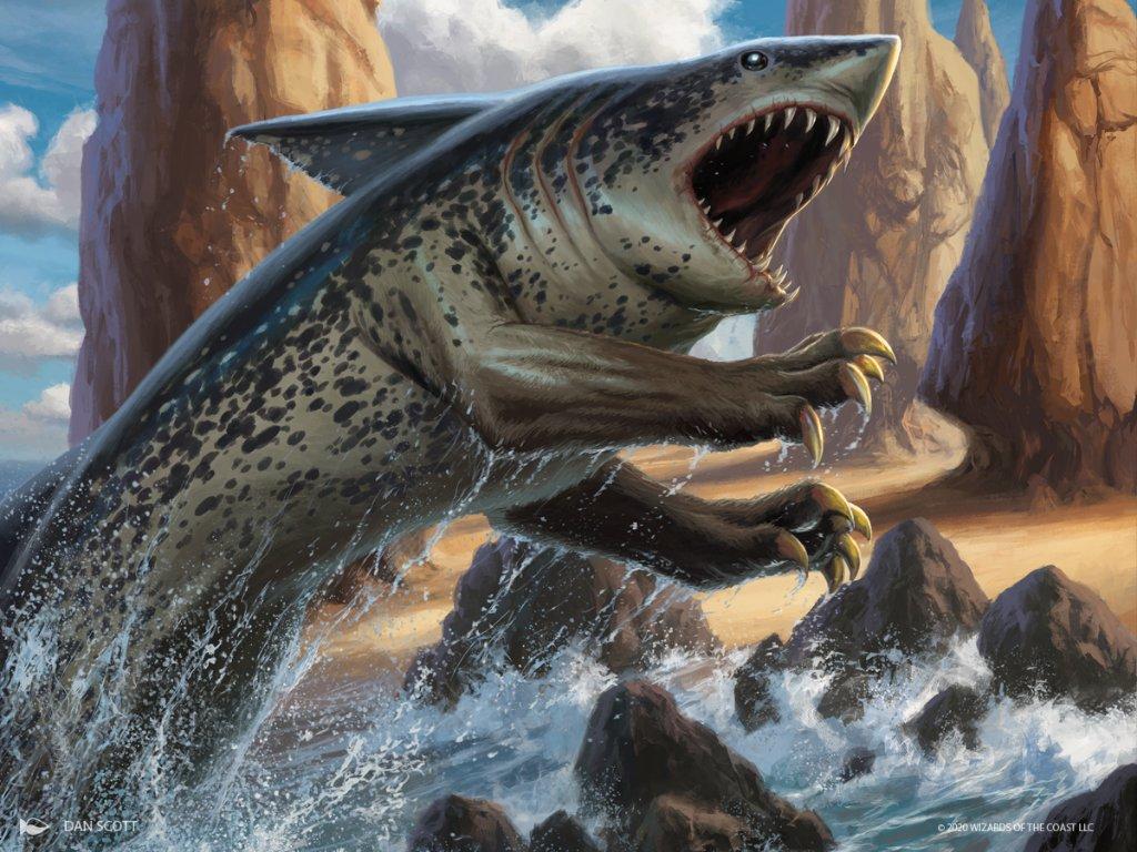 Ikoria Lair of Behemoth Shark Typhoon