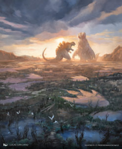MTG Secret Lair Godzilla Lands Presale Lands Only NM//M Foil