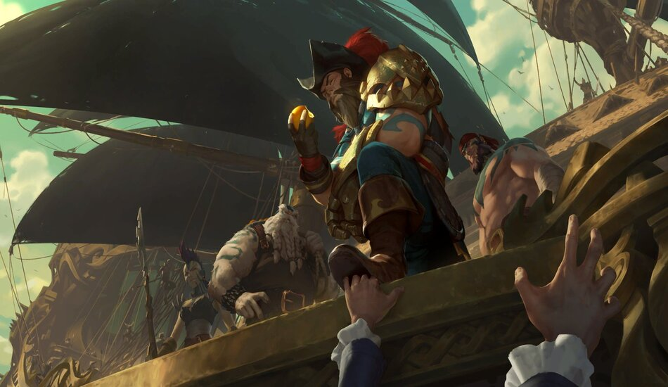 Legends of Runeterra Gangplank Bilgewater Captain