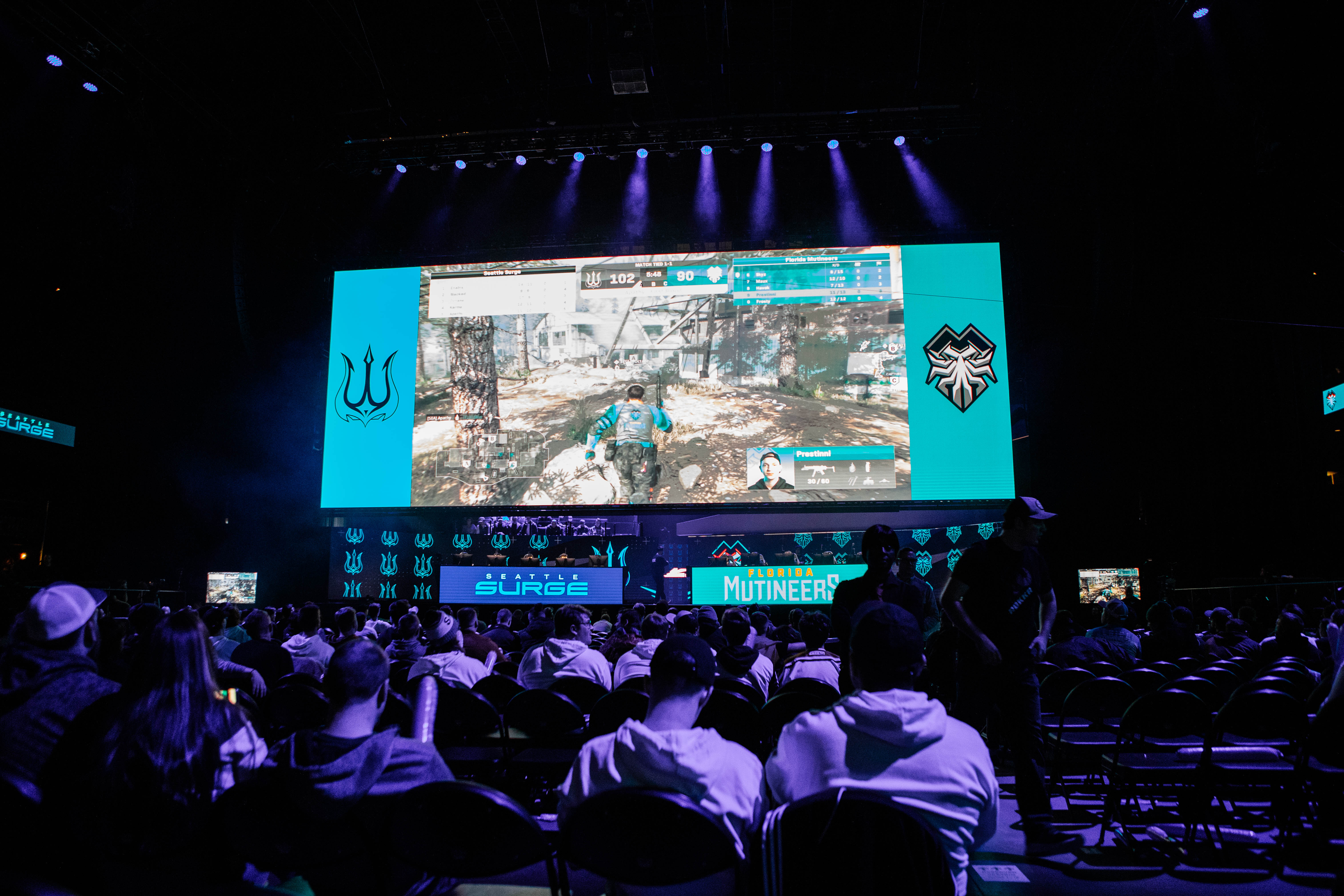 Group play and bracket results for online 2020 Call of Duty League Florida Home Series