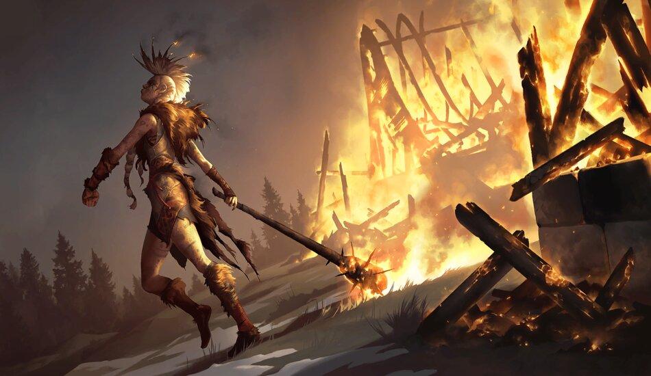 Legends of Runeterra Ember Maiden