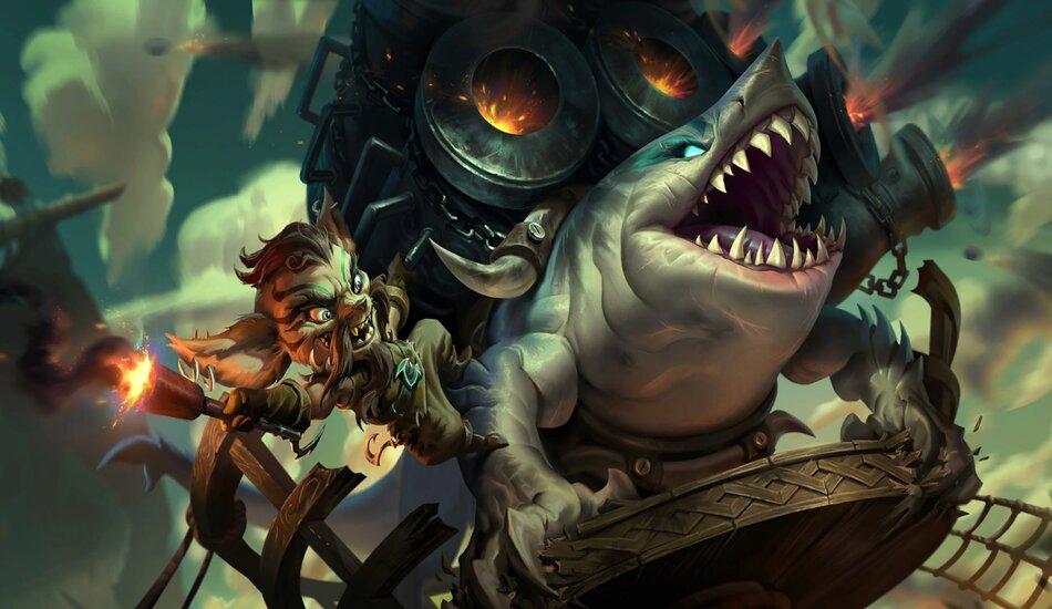 Legends of Runeterra Riptide Rex