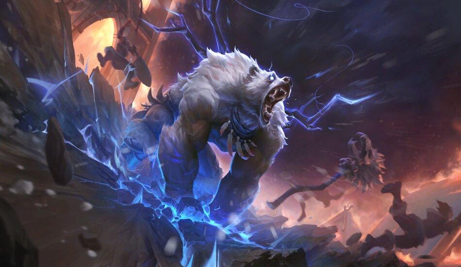 Legends of Runeterra Stormclaw Ursine