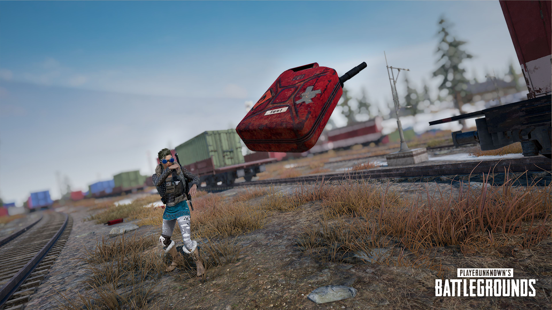 PUBG adds Ranked Mode, ignitible Jerry Cans, and weapon balancing in Update 7.2
