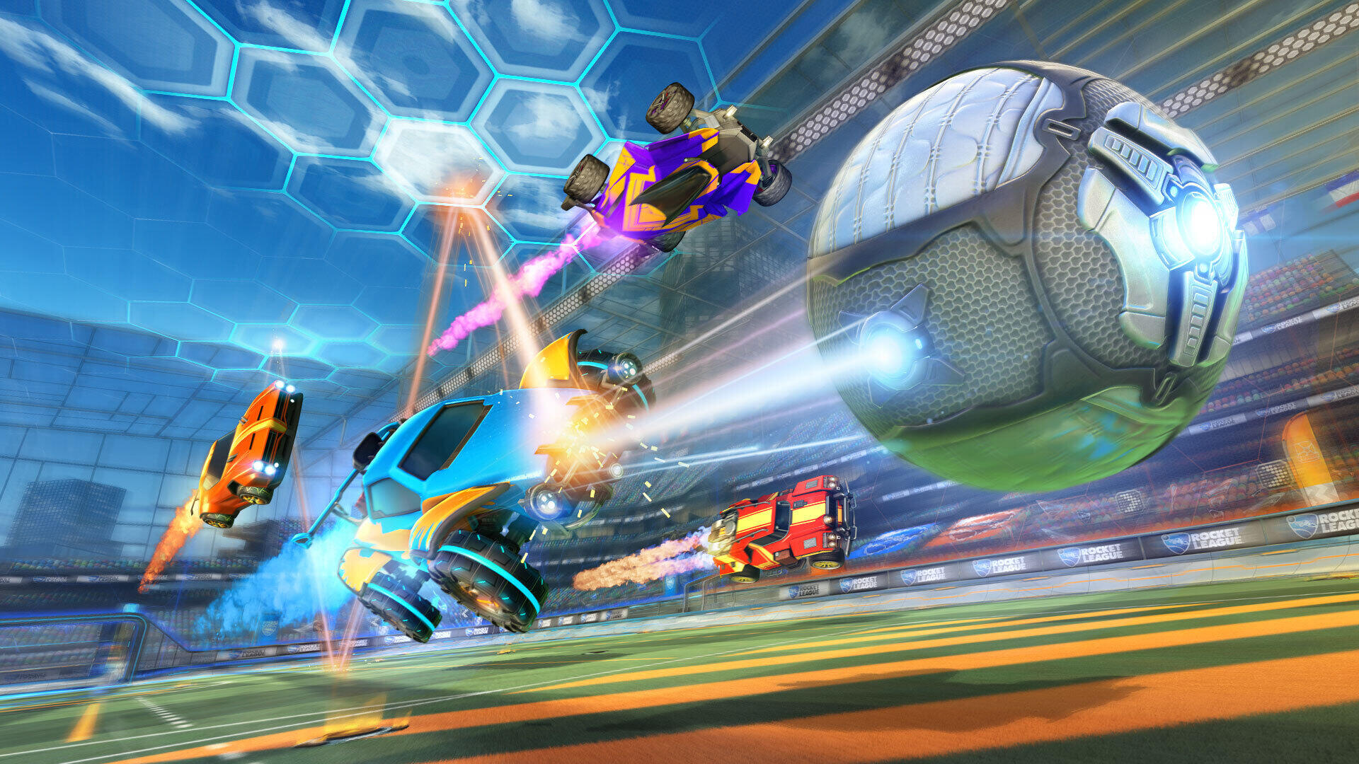 New limited-time Boomer Mode coming to Rocket League tomorrow