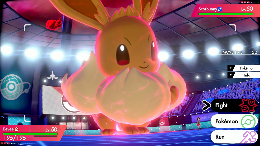 Gigantamax Eevee event begins today in Pokémon Sword and Shield