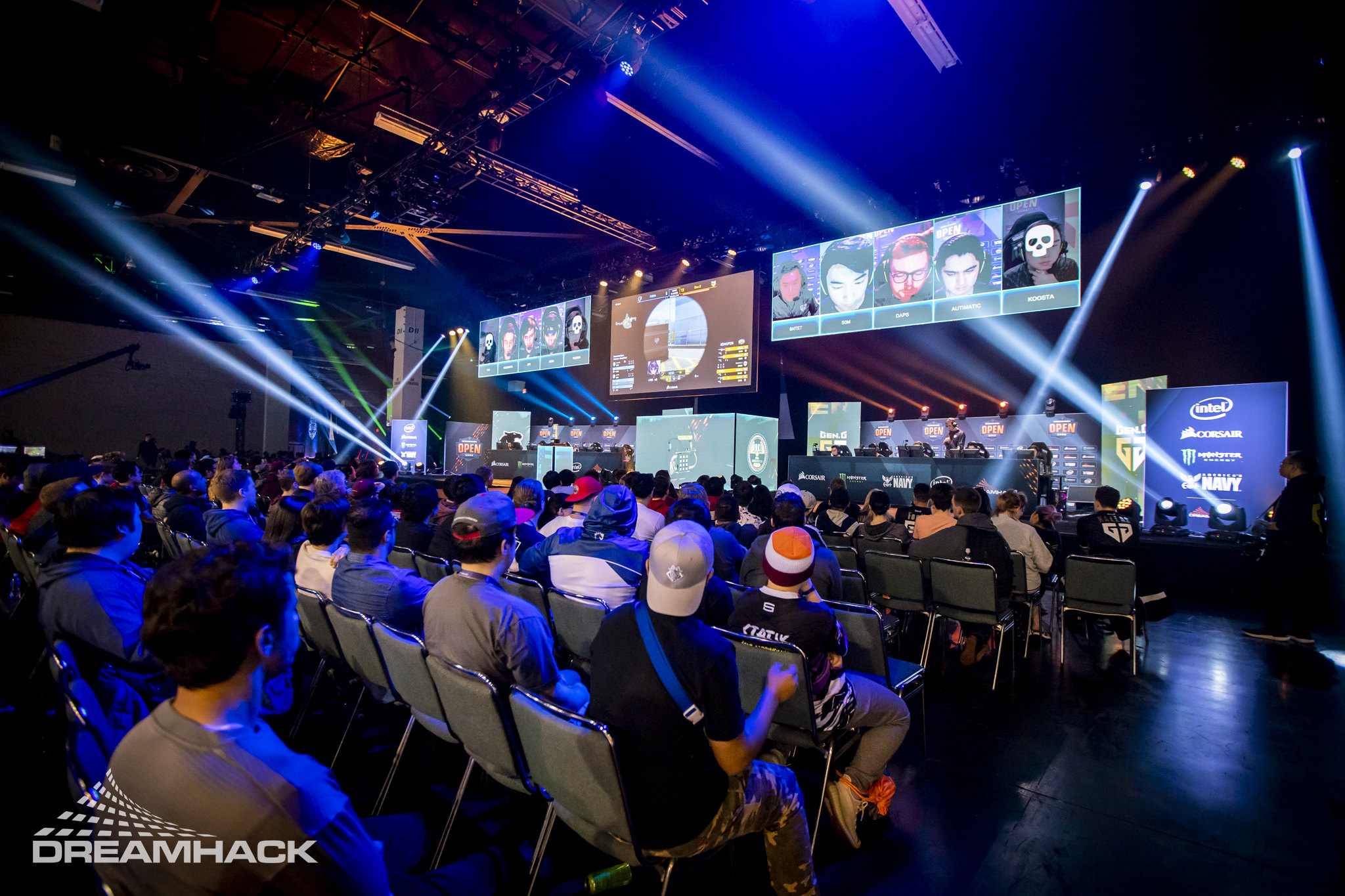Here are the DreamHack Masters Spring 2020 standings