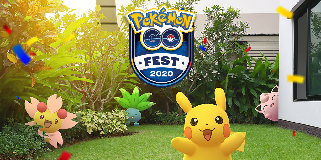 Everything we know about Pokémon Go Fest 2020