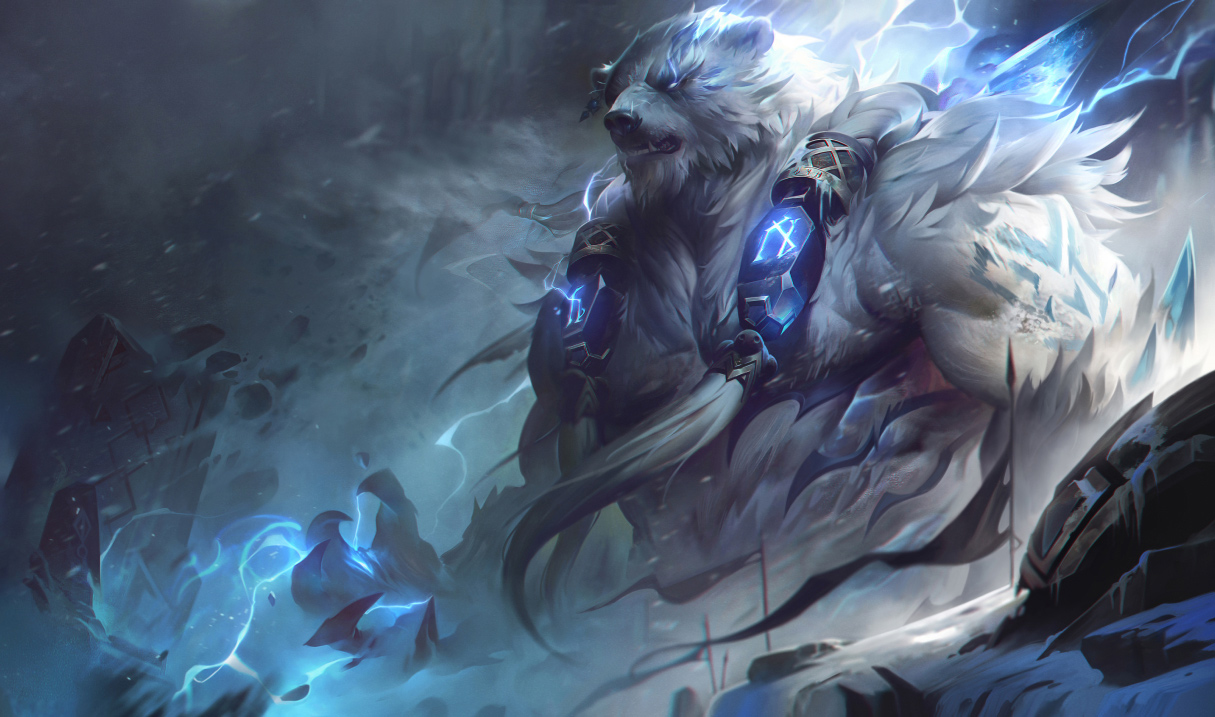 Volibear's Q and E are getting some love in today's League of Legends micropatch