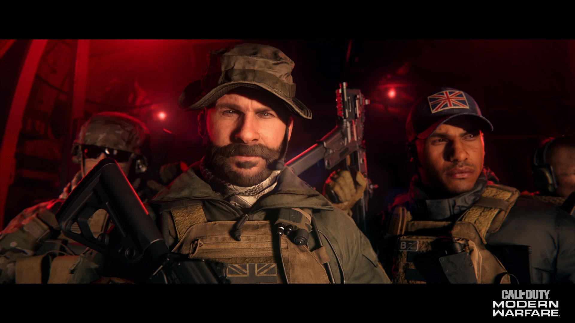 Captain Price and Gaz confirmed for Call of Duty: Modern Warfare season 4