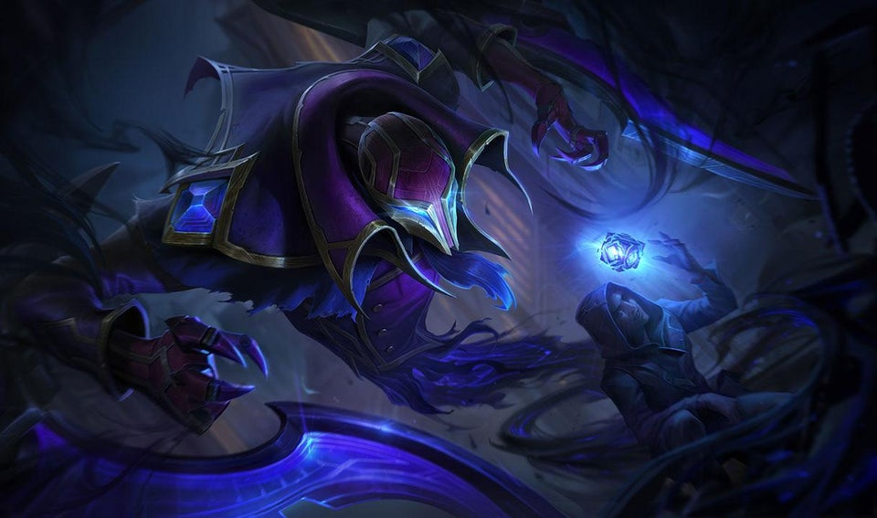 Riot previews Hextech skin for Nocturne on League's PBE