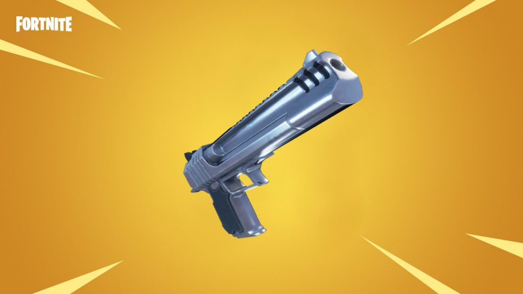 Fortnite's Hand Cannon receives cosmetic upgrade, possibly returning for Chapter 2, season 3