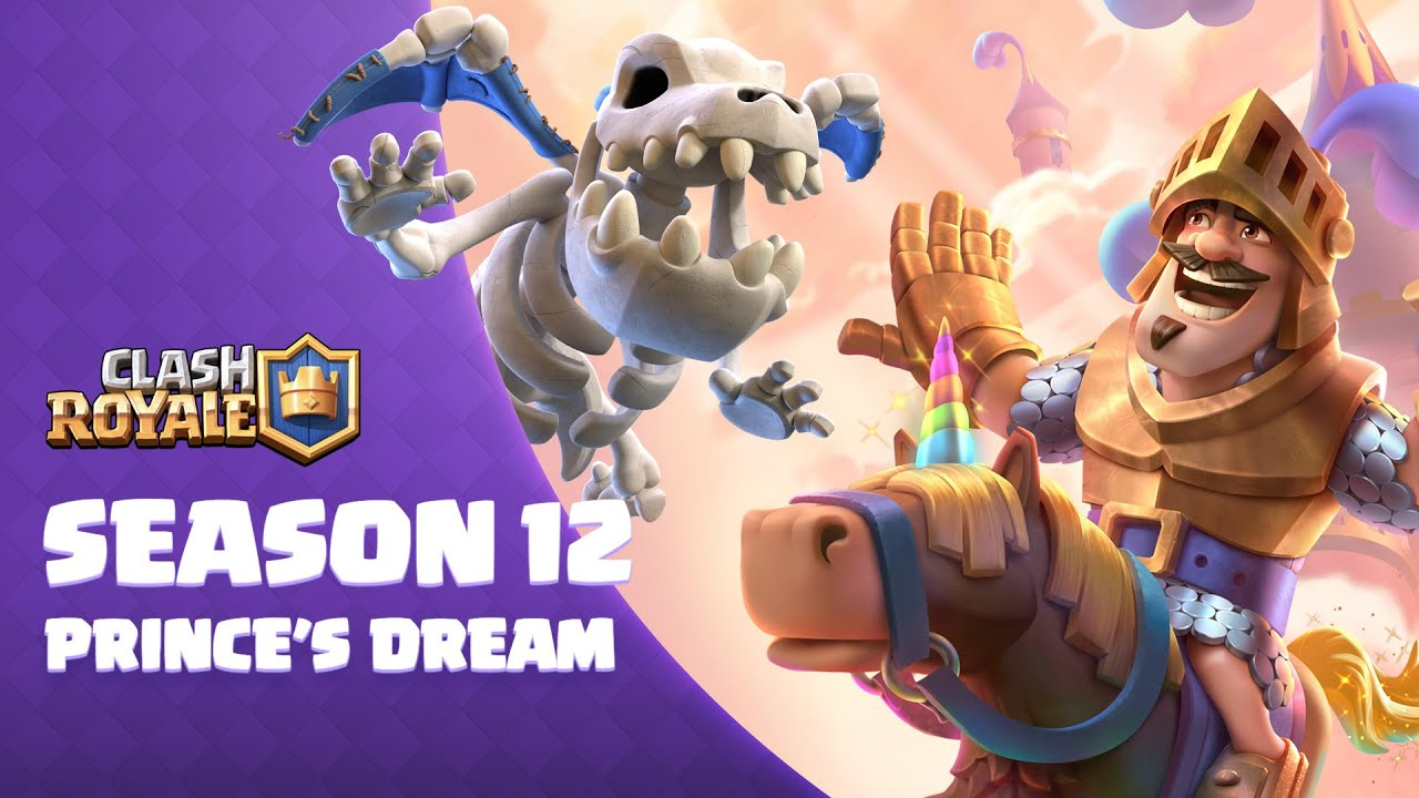 Clash Royale Prince's Dream season now available