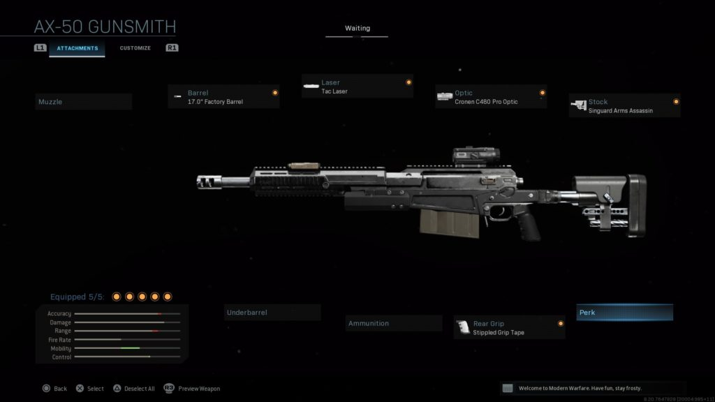 The Best Sniper Loadouts In Call Of Duty Modern Warfare And Warzone Dot Esports