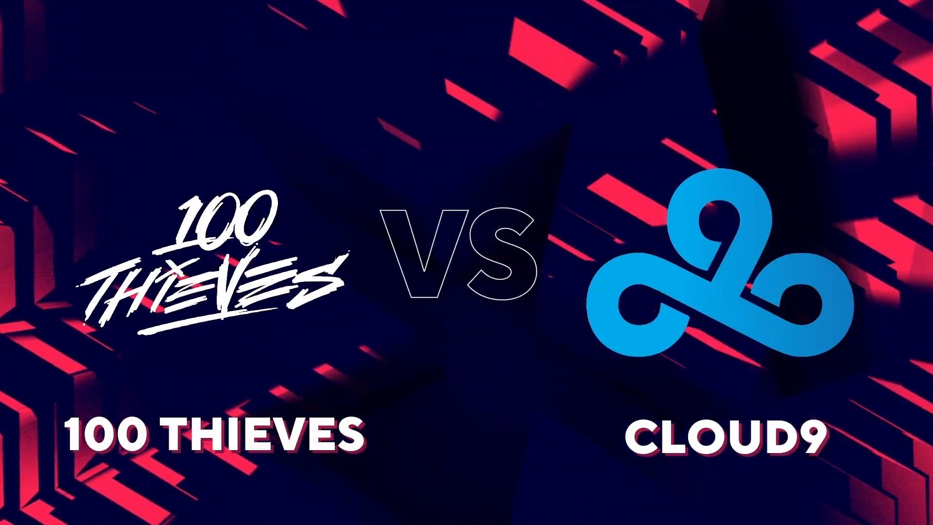 Cloud9 mount comeback, eliminate 100 Thieves from BLAST Premier Spring American Showdown