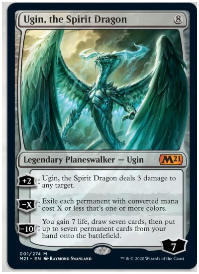 M21 Ugin The Spirit Dragon MTG