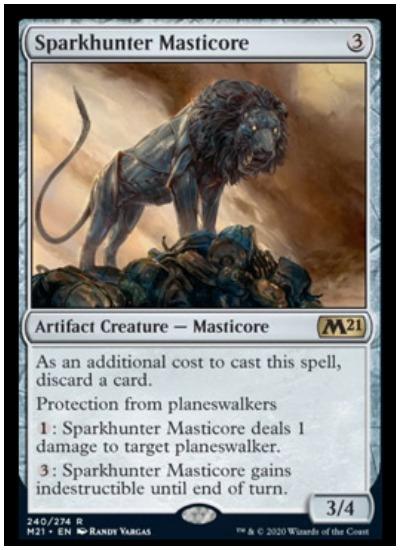 M21 Sparkhunter Masticore MTG