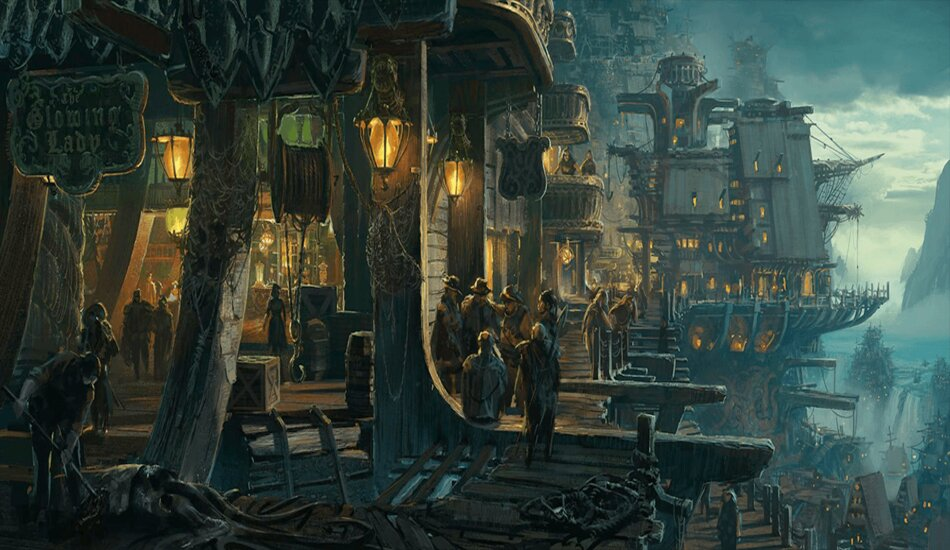Legends of Runeterra Bilgewater Docks