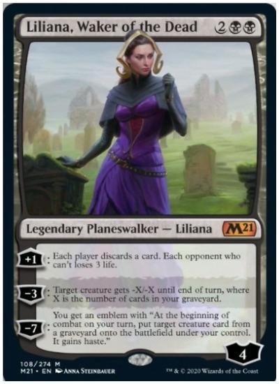 M21 Liliana Waker of the Dead MTG
