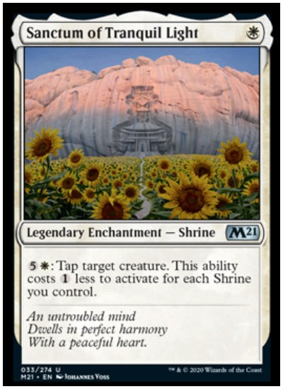 M21 Sanctum of Tranquil Light MTG
