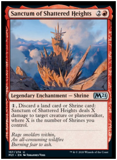 M21 Sanctum of Shattered Heights MTG