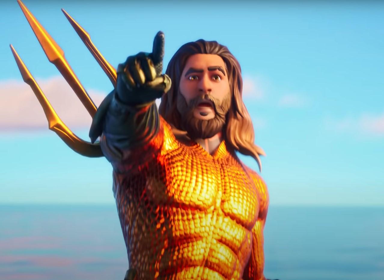 Aquaman's Fortnite skin revealed in Chapter 2, season 3 ...