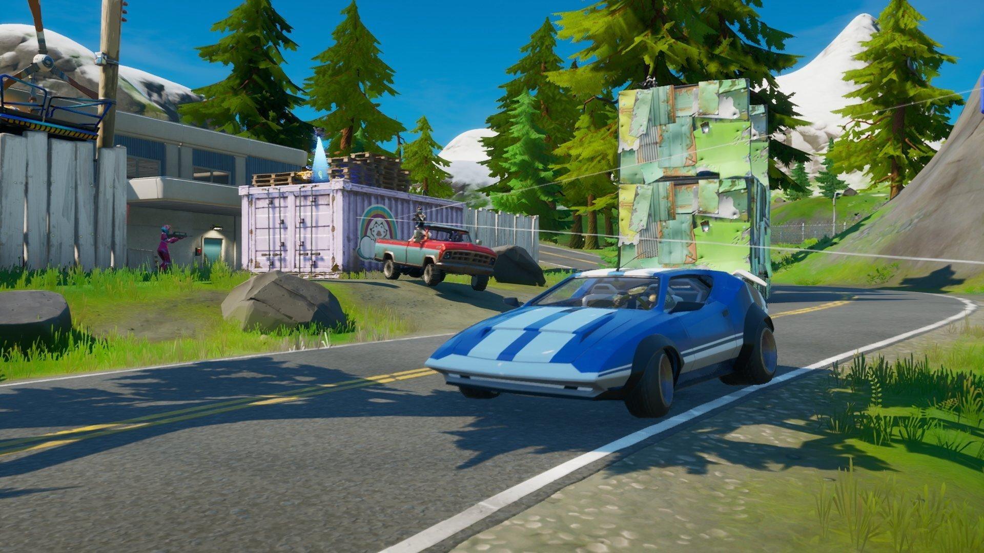Can You Drive Cars In Fortnite Dot Esports