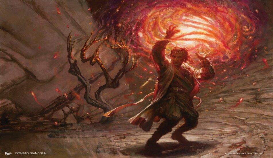 Core Set 2021 Heartfire Immolator