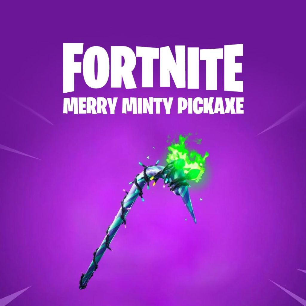 Fortnite Minty Candy Cane Pickaxe The 10 Rarest Pickaxes In Fortnite Dot Esports