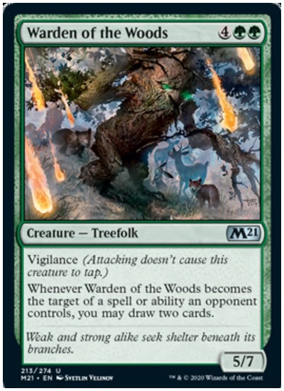 M21 Warden of the Woods MTG