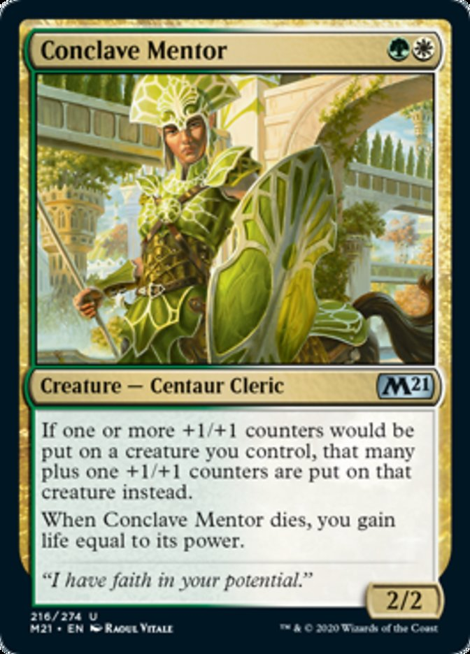 Conclave Mentor Magic Core Set 2021