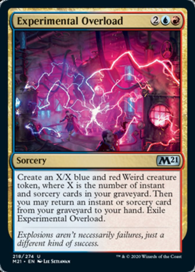 Experimental Overload Magic Core Set 2021