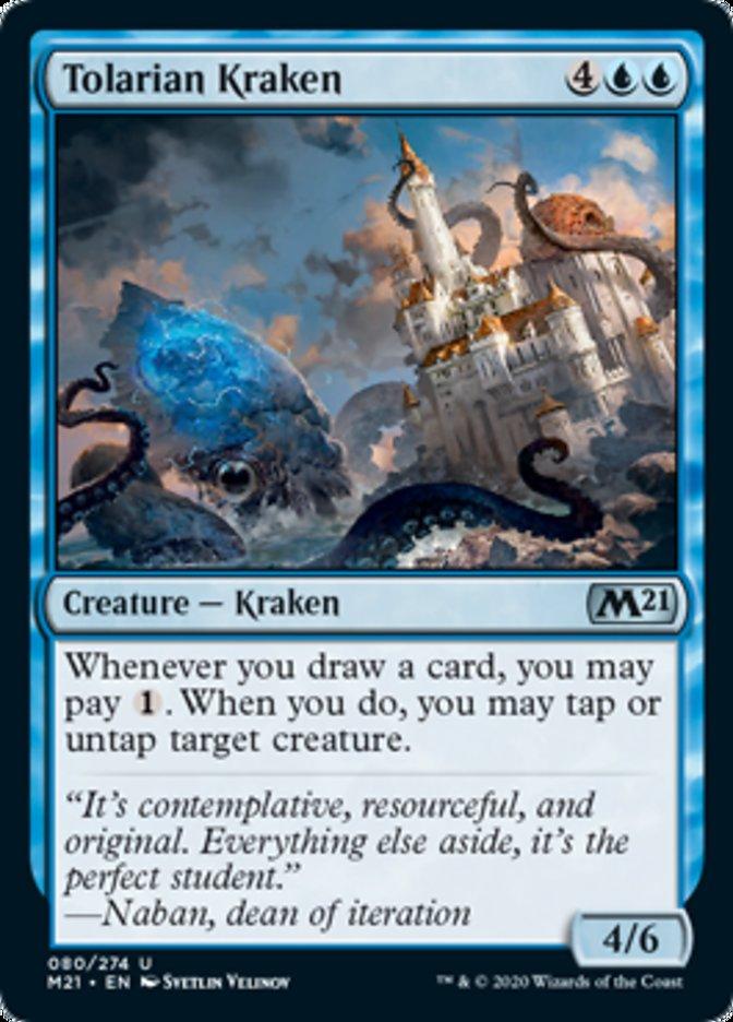 Tolarian Kraken Magic Core Set 2021
