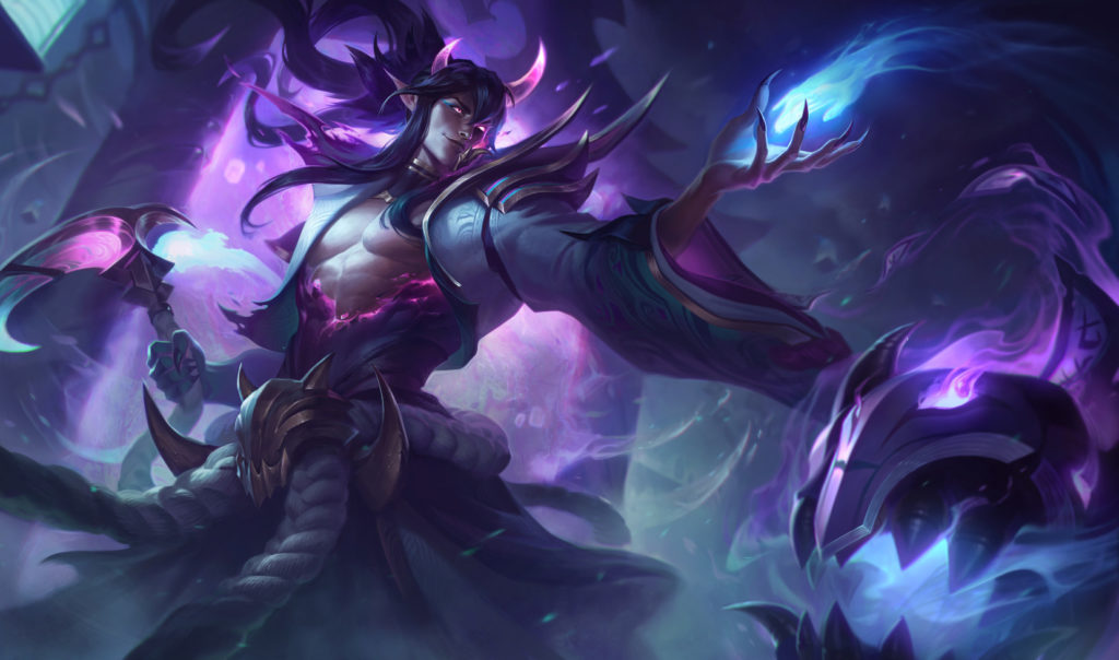 League voice lines between Yone and Spirit Blossom Thresh ...