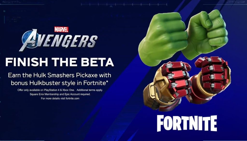 You can earn a Hulk Hands pickaxe in Fortnite by playing ...