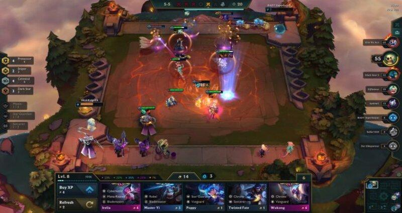 Teamfight Tactics Set 3 board