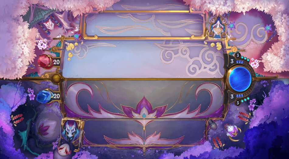 NightShade Shrine Spirit Blossom LoR Board