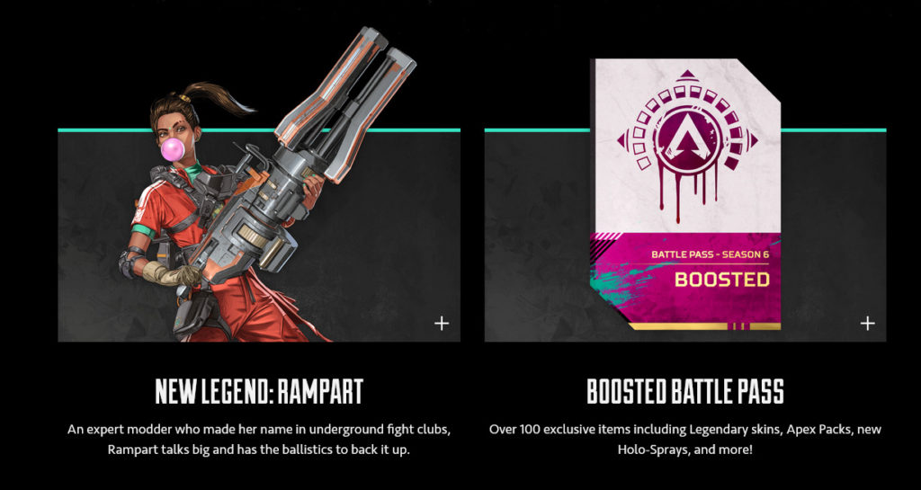 Apex Legends Season 6: New Character Rampart Revealed