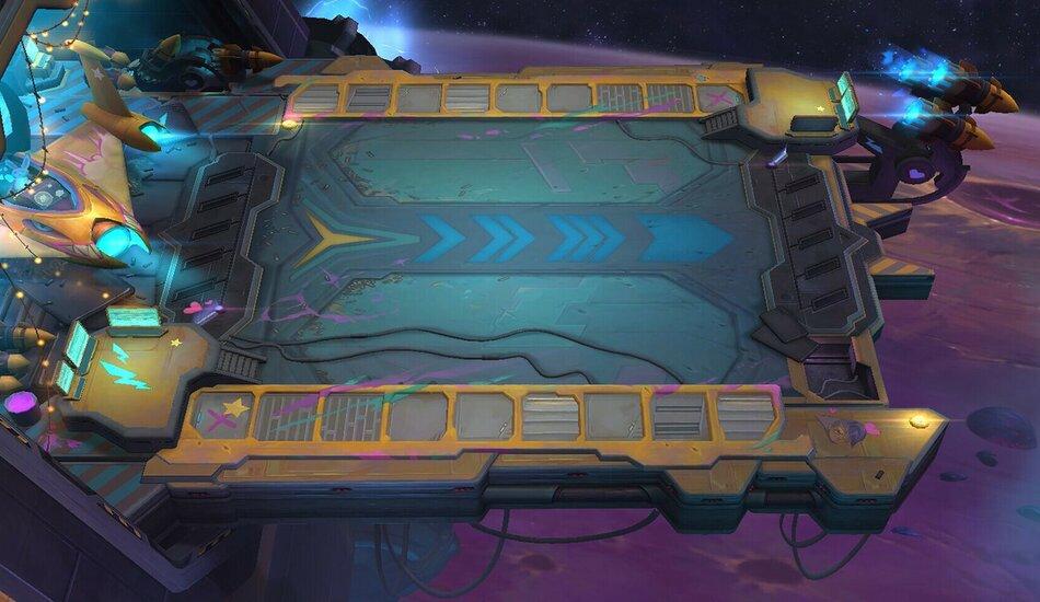 Teamfight Tactics Set 3 Galaxies Board
