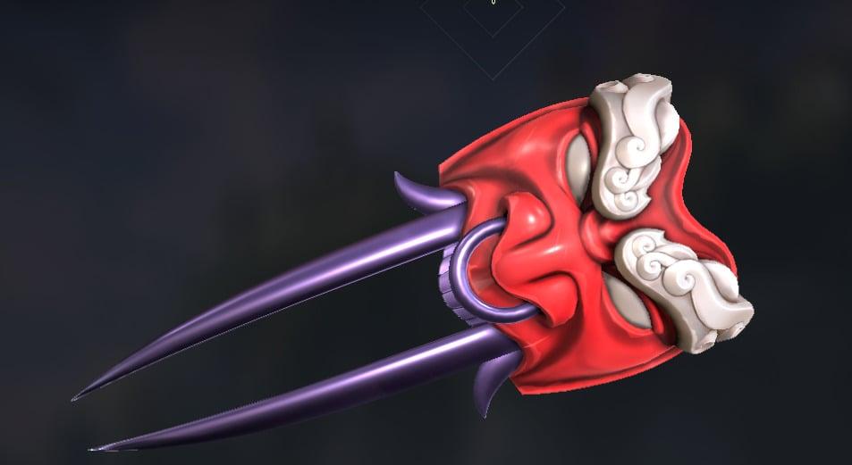VALORANT knife skins Oni - 3,550 VP