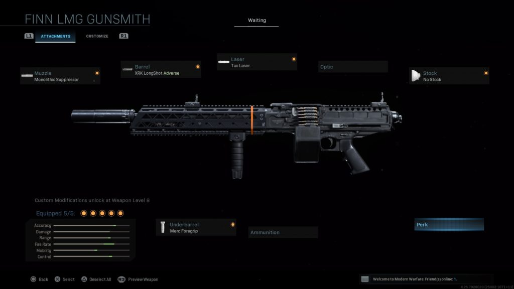 The best FiNN LMG loadouts in Call of Duty: Warzone and ...