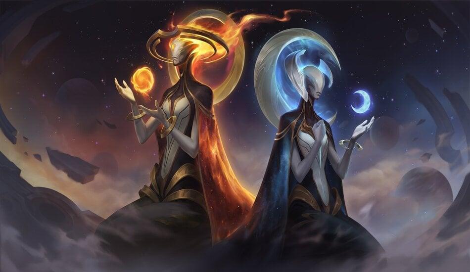 Legends of Runeterra Daybreak and Nightfall