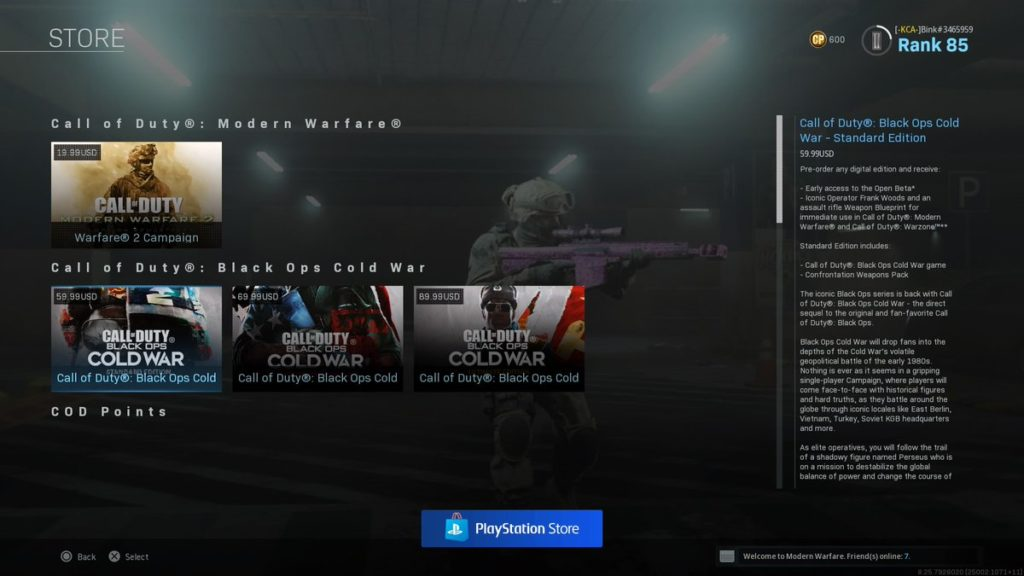 How Much Will Call Of Duty Black Ops Cold War Cost All Editions Pricing Pre Order Bonsues Dot Esports
